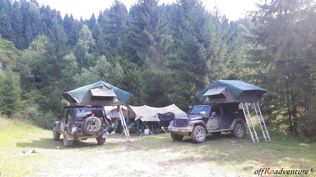 Camping - turism offroad